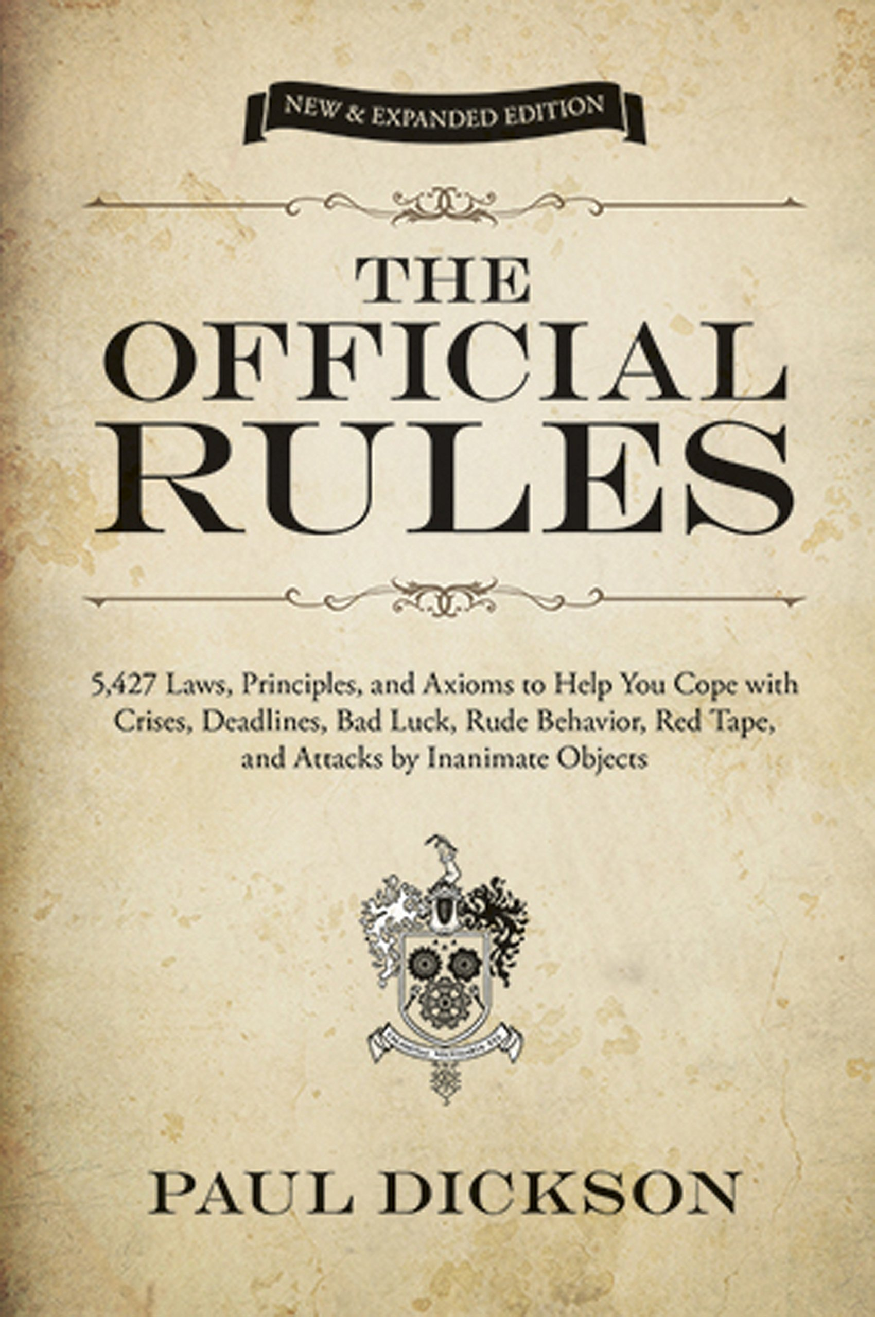 The Official Rules Cover