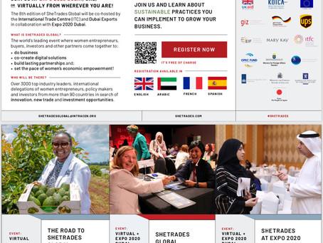 OWIT-Zimbabwe Partners with SheTrades Global:Dubai 17-19 October 2021