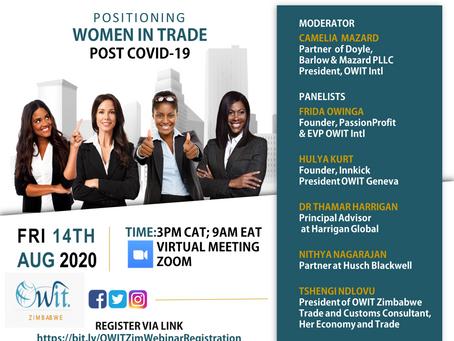 Women in  Trade Post COVID19