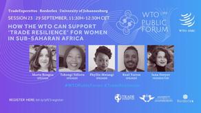 WTO Public Forum Presentation