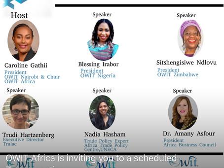 OWIT Africa Webinar