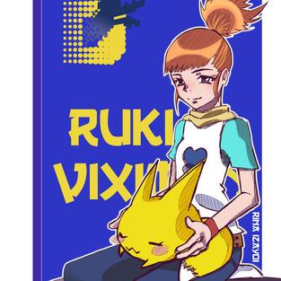 Ruki y Viximon