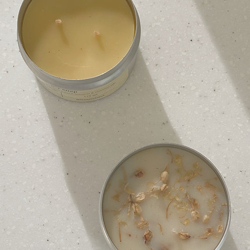 Scented Beeswax Candles in Tin 175ml