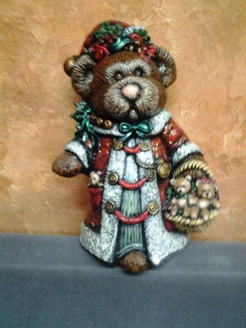 Antique Santa Bear