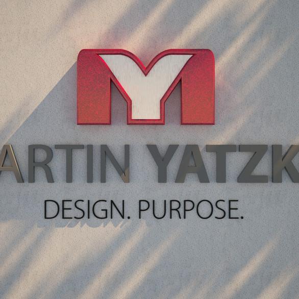 3D rendering of Martin Yatzko Logo