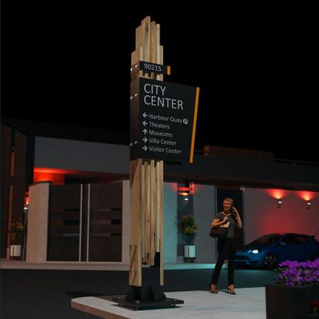 Cedar plank sign designed by Graphic Designer in Edmonton - Martin Yatzko.jpg