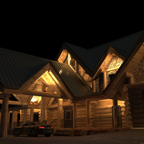 LOG HOME Stately Entrance.jpg