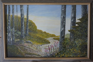 Fresh Air#Stoke#Woods#Framed.#art#painting