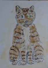 Archie ACEO. charlie cat story