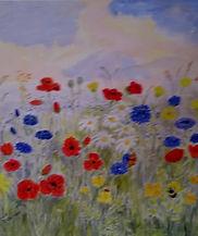 wildflowers card edited