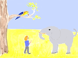 elephant girl and bird.png