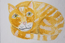 Charlie Cat ACEO.