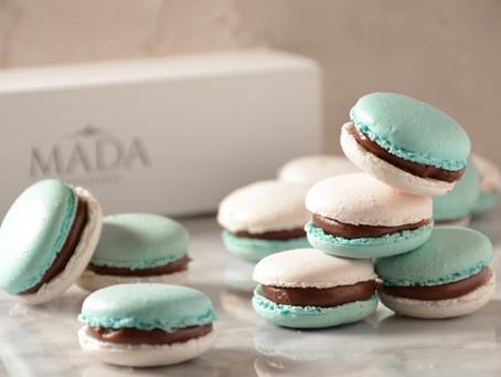 Macarons patrios de Mada Patisserie para el 25 de Mayo