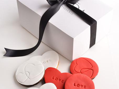 Cookies en forma de corazón de Mada Patisserie para San Valentín
