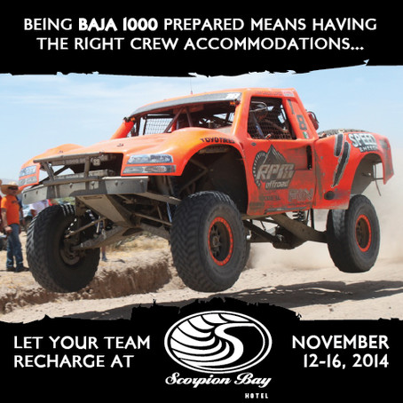 Make Noise for This Year's Baja 1000