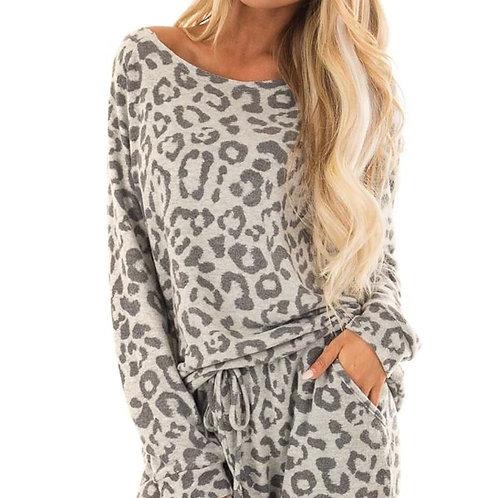 Leopard Print Sleepwear Set #G2