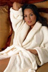 The Spa Robe™ for Warmth!