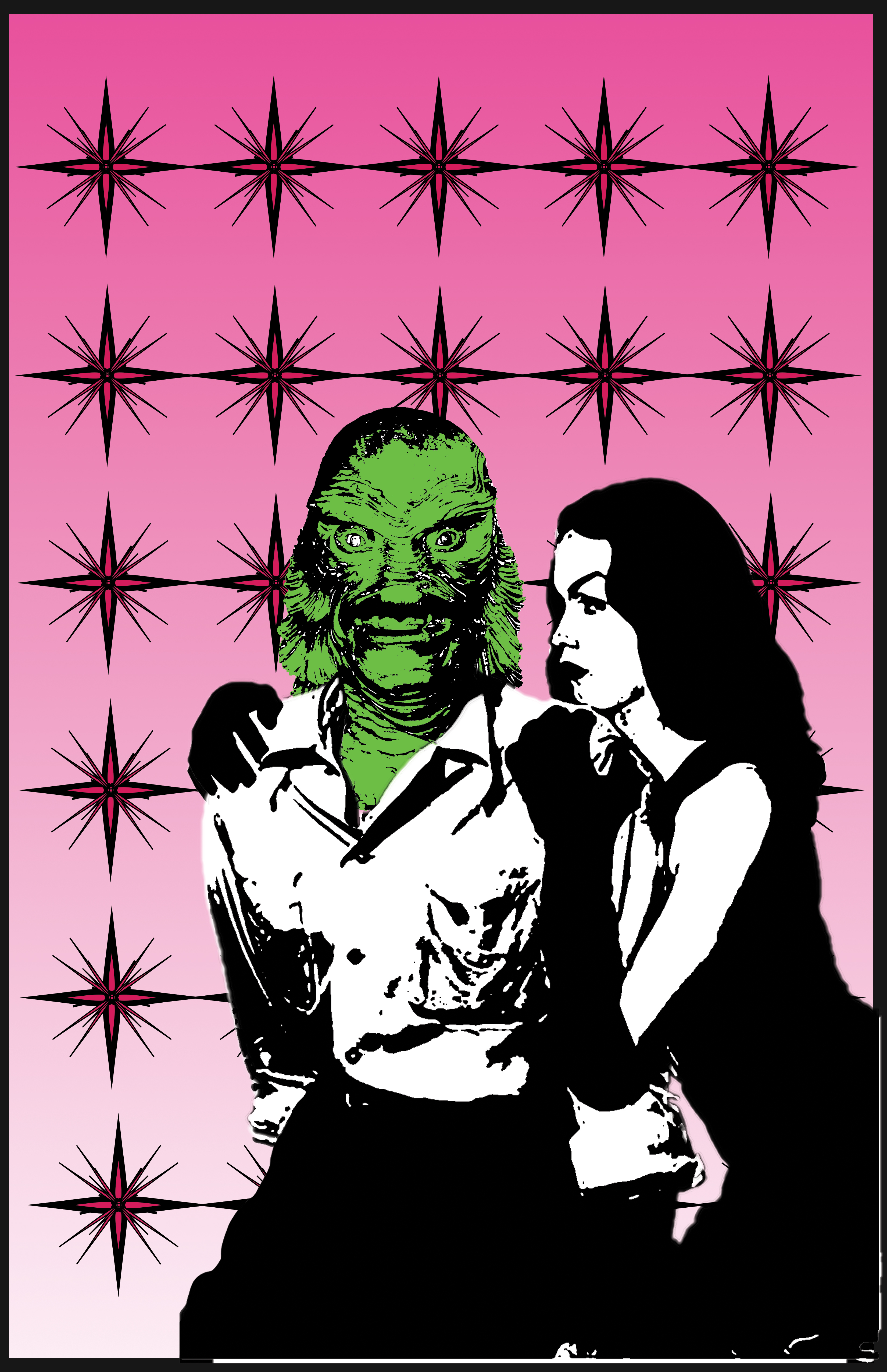 The Creature And Vampira