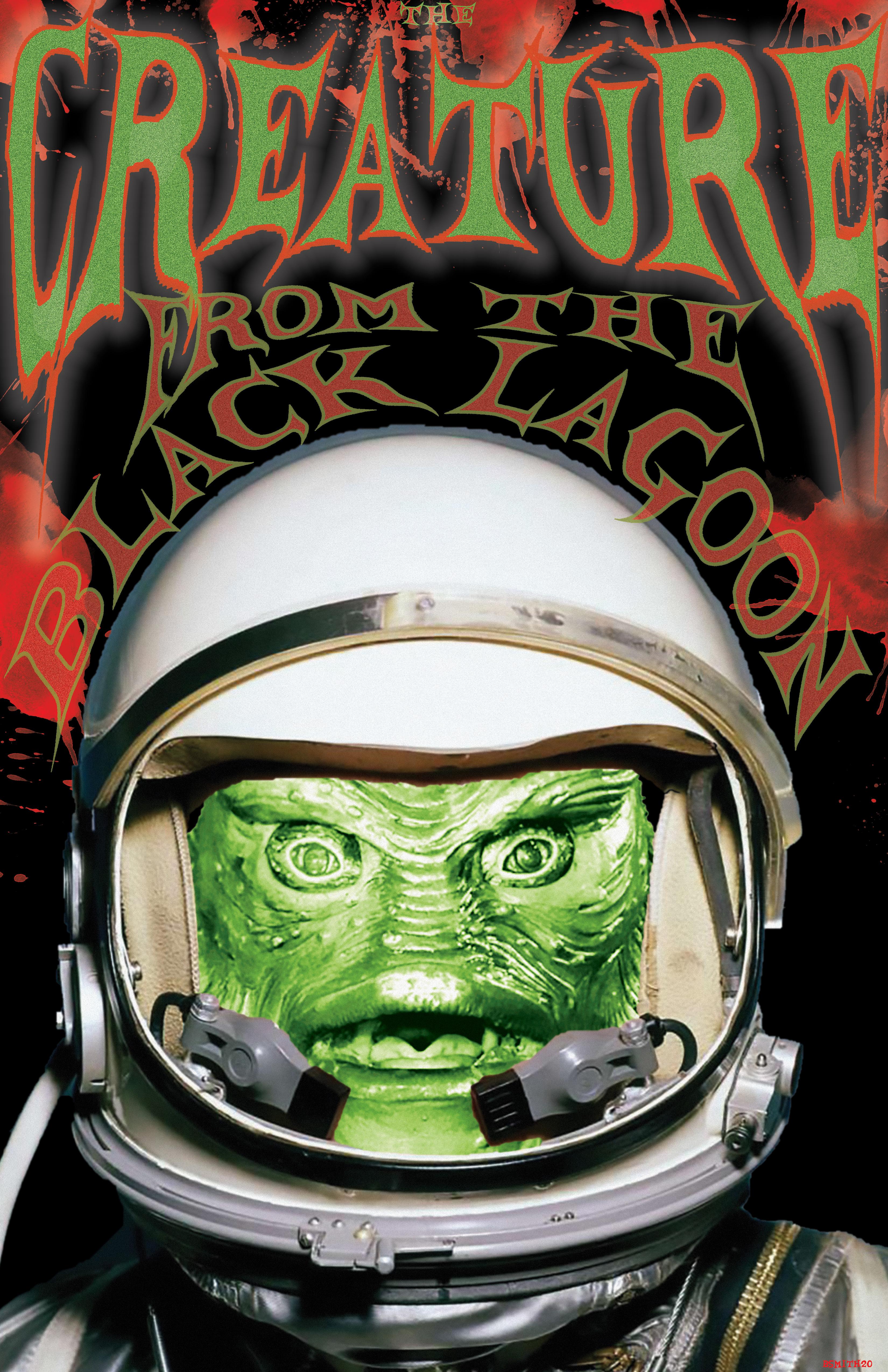 Universal Astro Zombie The Creature