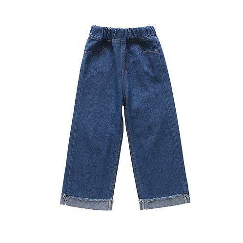 Slim Thin Denim Baby Girl Jeans