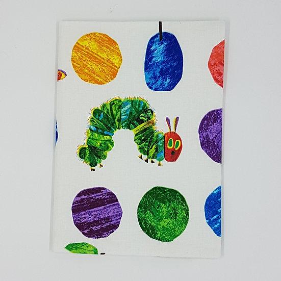 Plunket Well Child Cover Fabric NZ Hemmingbird Hungry Caterpillar