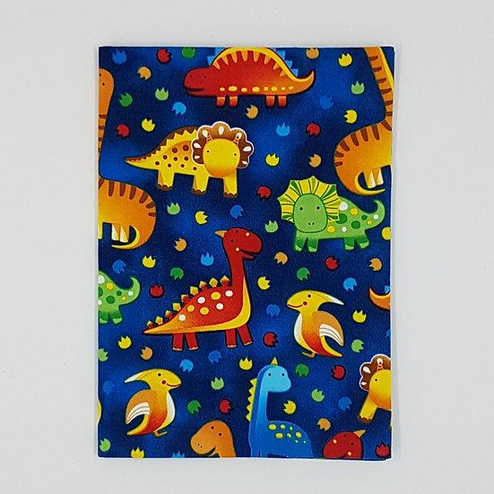 Plunket Well Child Cover Fabric NZ Hemmingbird Dinosaurs