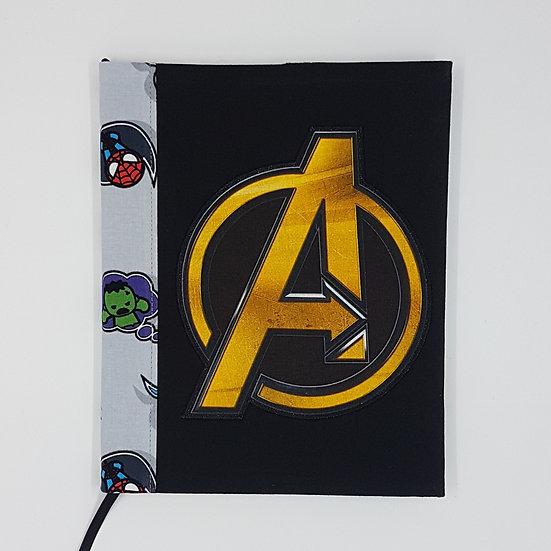 Journal Cover Avengers Logo
