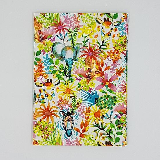 Plunket Well Child Cover Fabric NZ Hemmingbird Colourful Animals