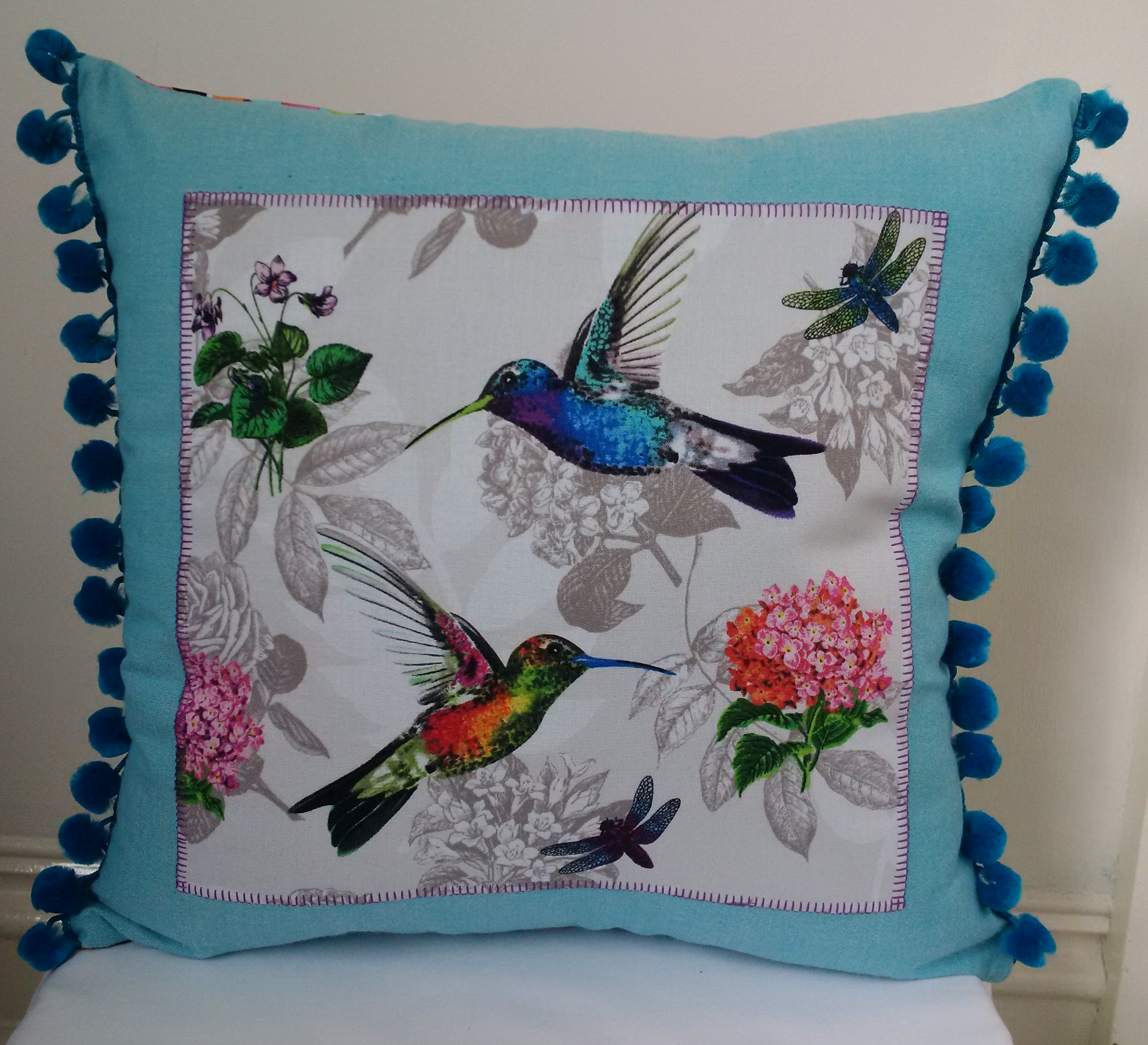 Cushion Hummingbird custom