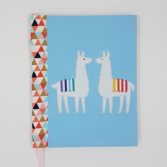 Journal Cover Llamas