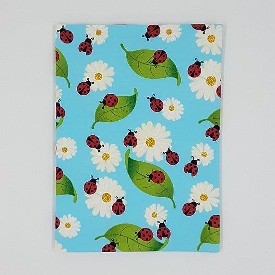 Plunket/Well Child Cover Ladybugs