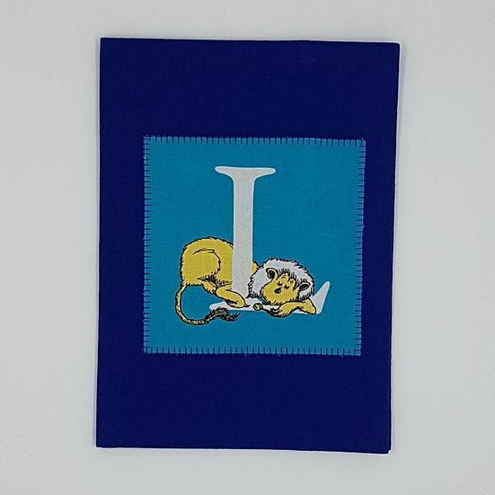Plunket/Well Child Cover Dr Seuss Letter L