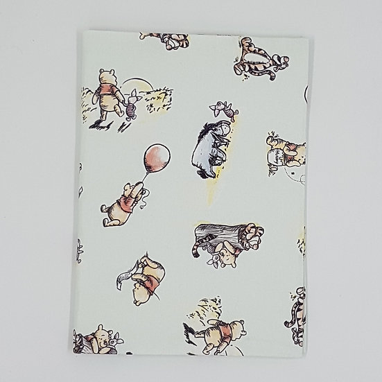 Plunket/Well Child Cover Winnie the Pooh Blue