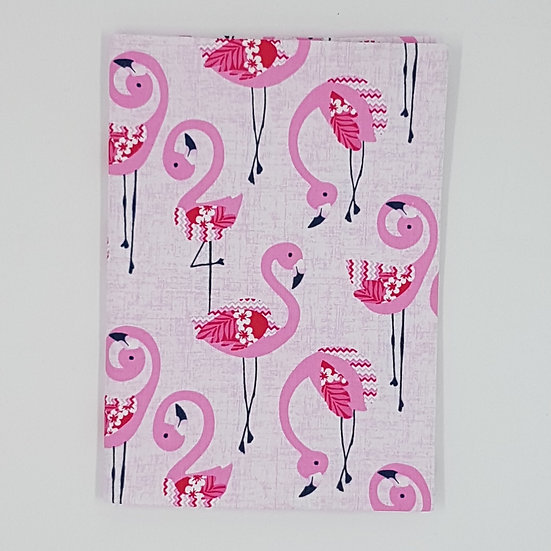 Plunket/Well Child Cover Flamingos