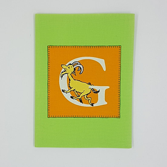Plunket/Well Child Cover Dr Seuss Letter G