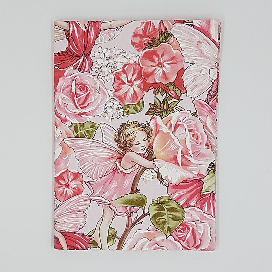 Plunket/Well Child Cover Flower Fairy Peach