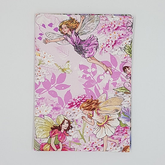 Plunket/Well Child Cover Flower Fairy Pink