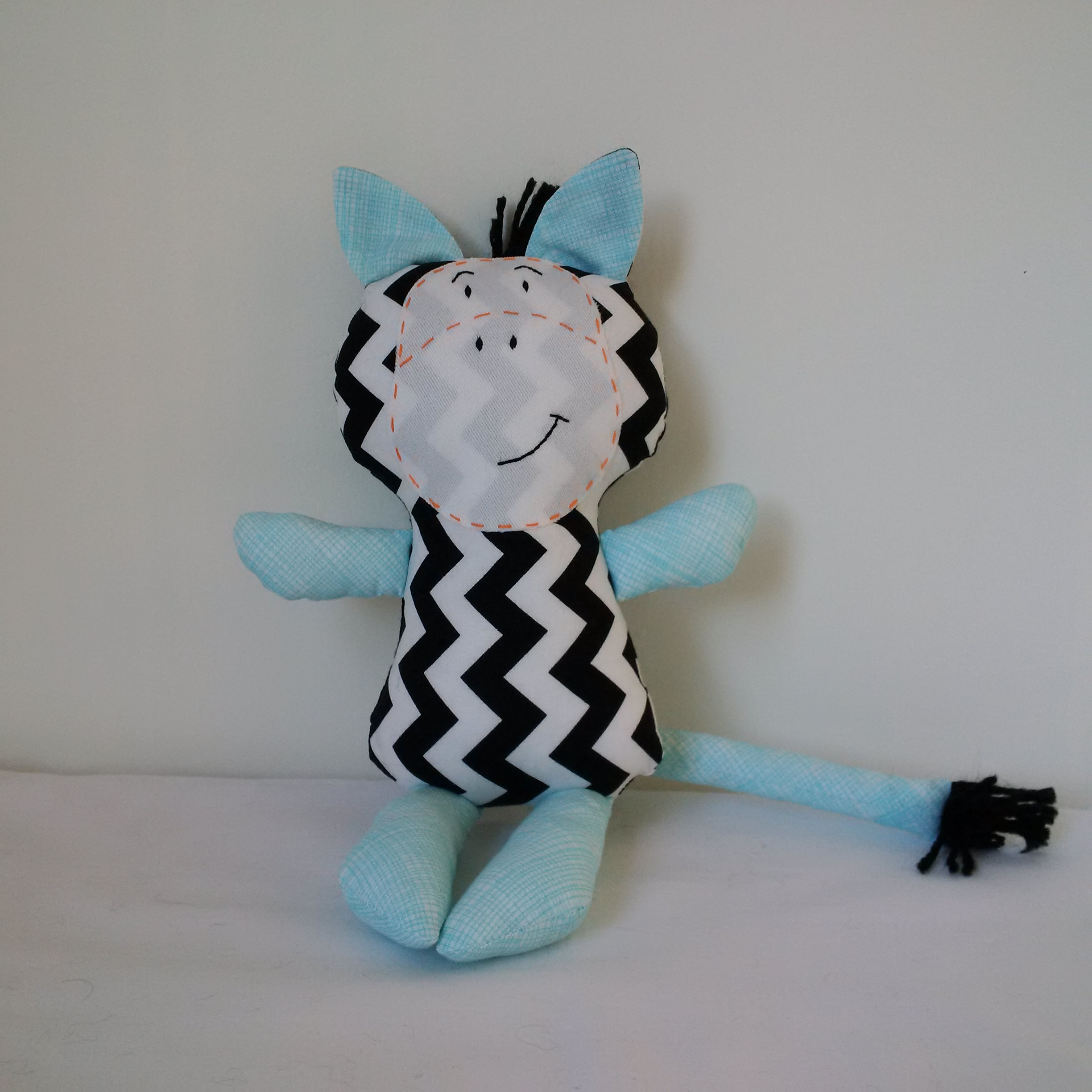 Soft toy horse custom