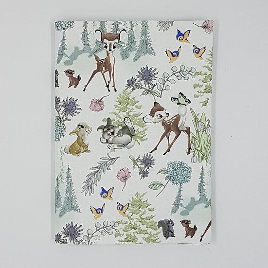 Plunket Well Child Cover Fabric NZ Hemmingbird Bambi