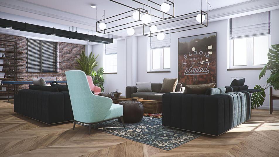 Mixbook office design by MUSA Studio