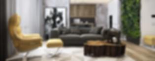 URBAN NATURE apartment designed by MUSA Studio