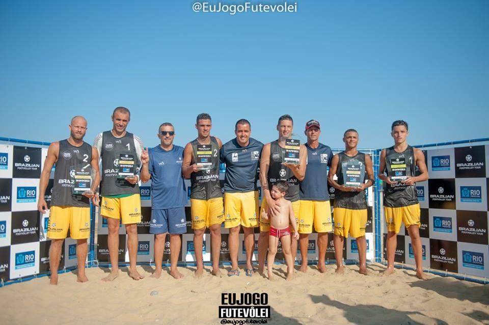 Brazillian Footvolley Tour - Aberto
