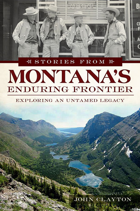 Stories from Montana's Enduring Frontier book cover