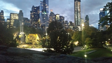 Midtown New York from Central Park