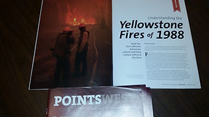 Points West magazine article