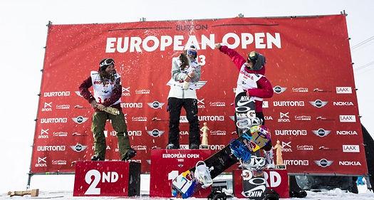 First Place Burton European Open