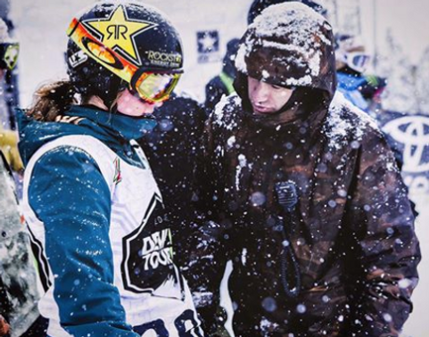 Snowy Day at the Dew Tour