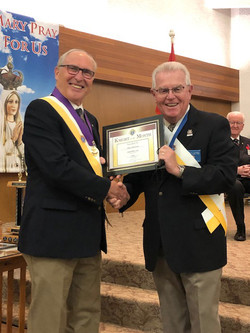 Knight of the Month-Mike Patterson