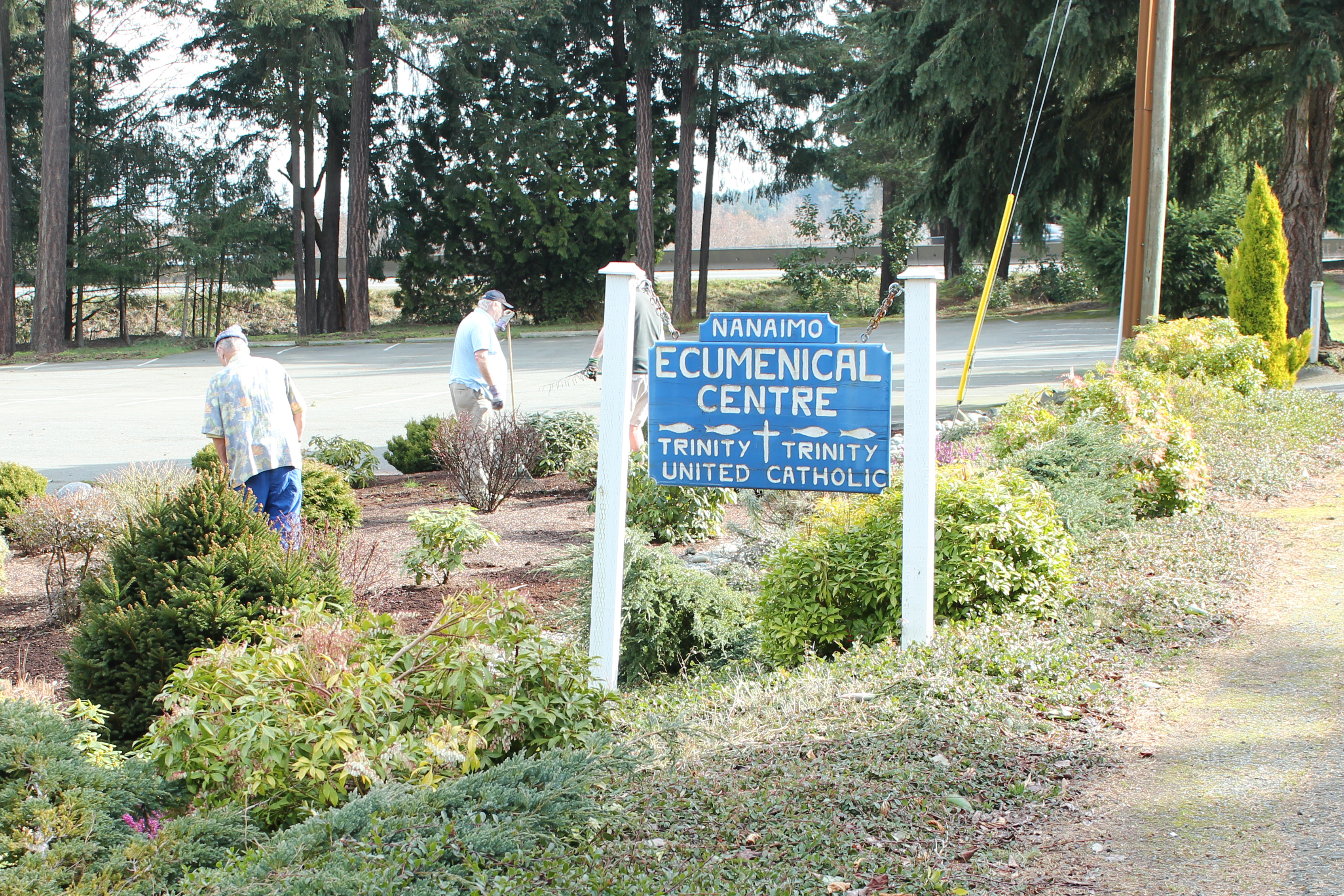 Church Grounds cleanup