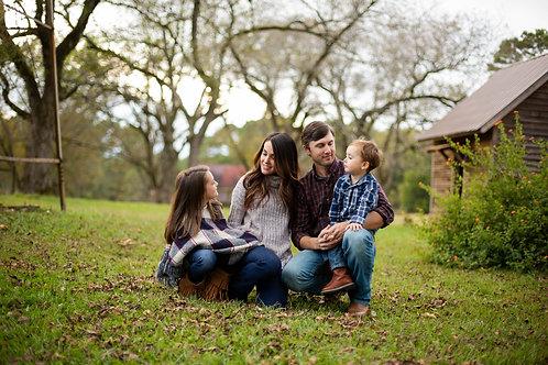 Oconee Co. Fall Family Session -  Deposit